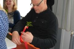 Henk-Jan werkt hard